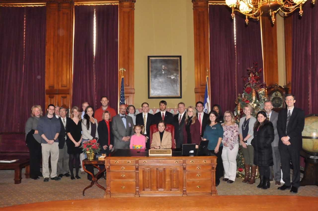 One Health Month Proclamation Signing by Gov. Kim Reynolds